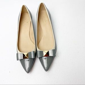 Kate Spade Pointy Studded Loafers